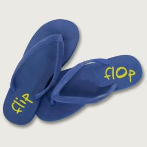 Flip flop foot pain